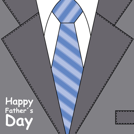 happy fathers day in suit