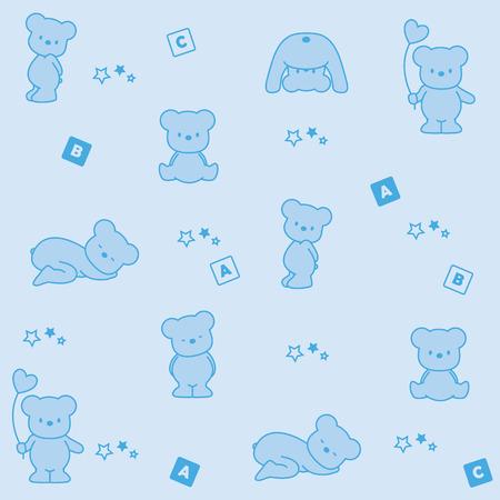 baby blue background