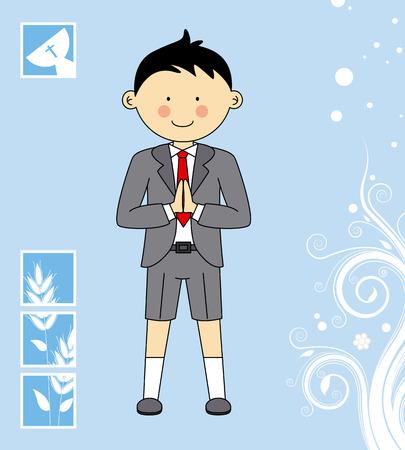 primera comunion: Boy Primera Comunión