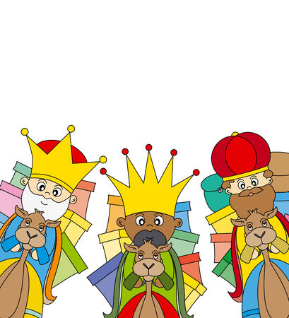 melchior: letter to the Three Kings Illustration
