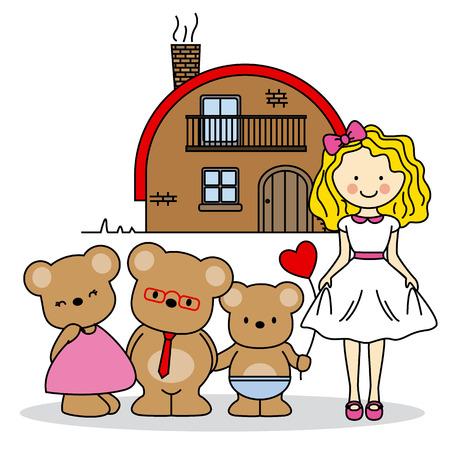 children's story: childrens story Illustration