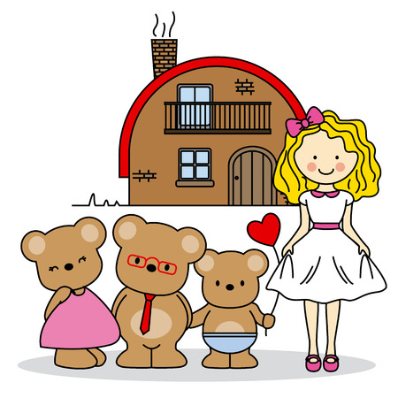 childrens story Illustration