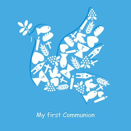 Tarjeta de Invitación Primera Comunión