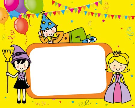 costume party: Costume party card