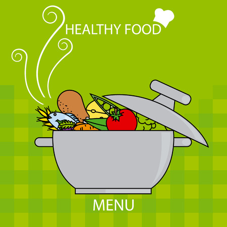 comida sana: alimentos saludables