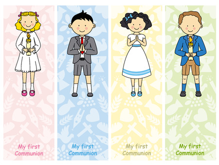 first holy communion: Set first communion