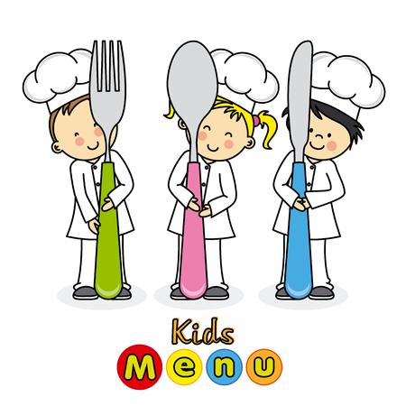 kids menu Фото со стока - 47197508