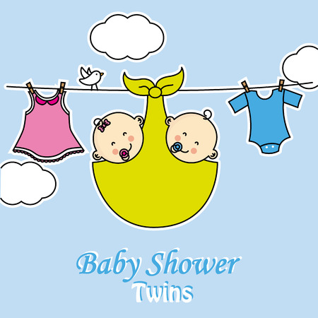 1,076 Twin Boys Cliparts, Stock Vector And Royalty Free Twin Boys ...