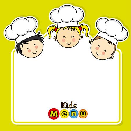 Menu per bambini. spazio per il testo Archivio Fotografico - 47937043