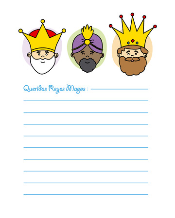 three kings: Letter to the Three Kings