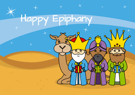 melchior: card happy epiphany Illustration