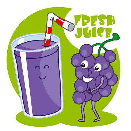 grape juice: natural grape juice