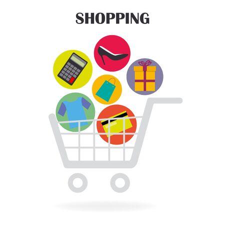shopping icons: shopping icons