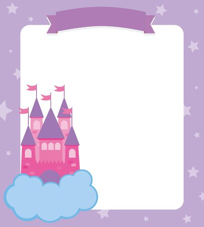 princess castle: princess castle card