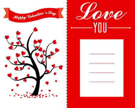 with space for text: san valentine day card. space for text