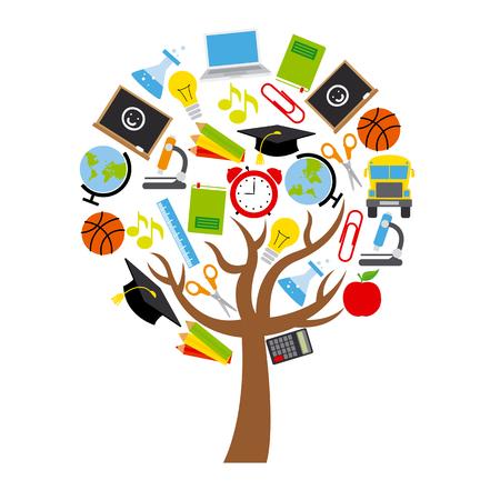 education icons: education icons Illustration