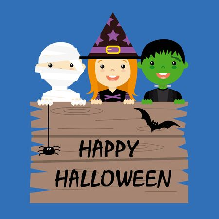 Halloween costume party with kids