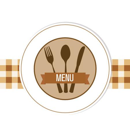 design del menu del ristorante