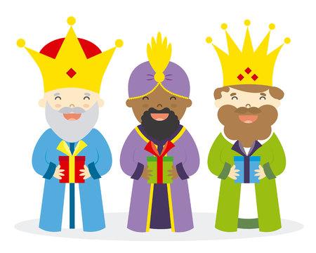 caspar: The three kings of orient