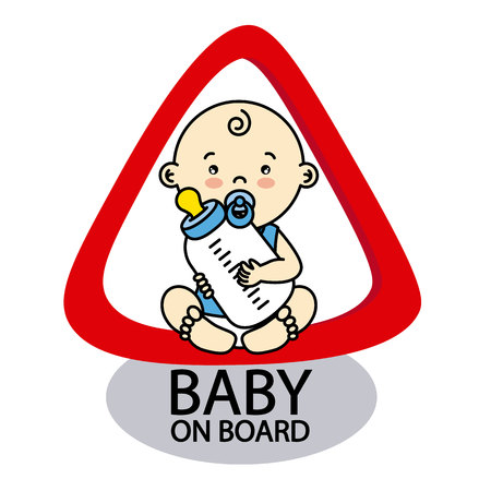 bebe a bordo: Baby on Board Sign