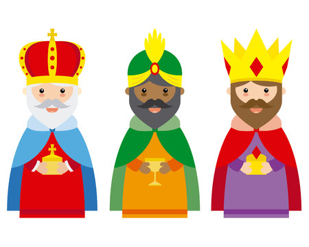 The three wise men of orient