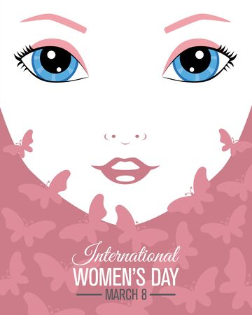 Poster design for International Women's day.