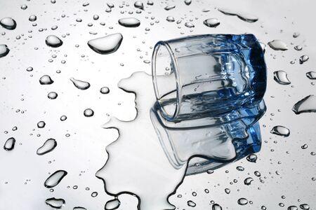 The overturned wine-glass