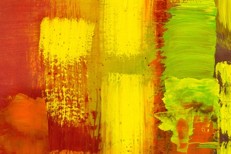 Abstract background drawn by oil paints