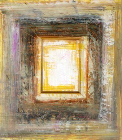 grungy frame