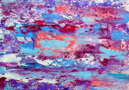 Abstract art background. Modern art . Multicolored  bright texture.  Oil painting .