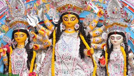 puja: Durga puja festival at Kolkata, India