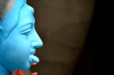 Close-up of a hindu idol. Stock Photo
