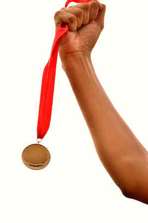 games hand: Winning games, hand holding gold medals