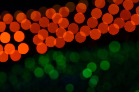 Glowing abstract defocused background