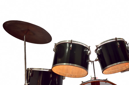 live action: Percussion instrument Stock Photo
