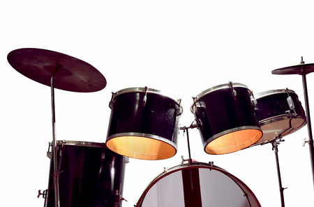 percussion instrument: Percussion instrument in white background.