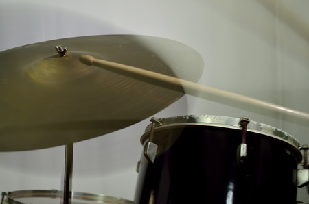 percussion instrument: Percussion instrument is playing. Stock Photo