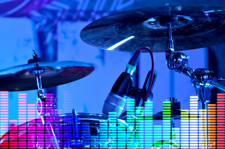 bass drum: base drum bass beat drum drum set entertainment equipment instrument jazz kit modern music musical nightclubs nobody object popular professional rock set skill sound stage tom tom tom