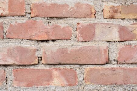 brownstone: Brick wall background with copy space