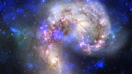 the pleiades: galaxy Stock Photo