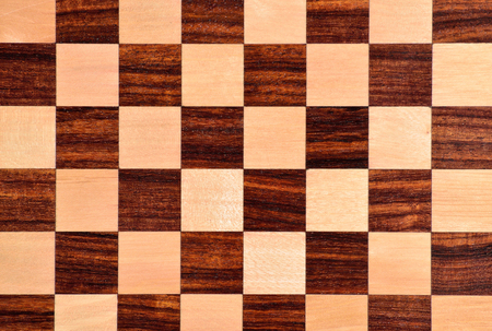 chess board: Wooden chess board. Stock Photo