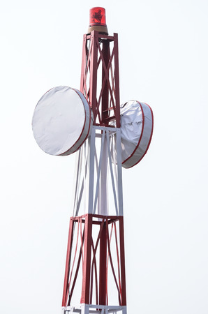 shortwave: Surveillance radar Stock Photo