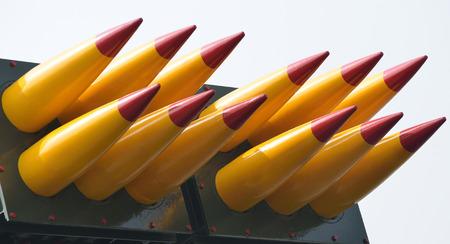 batch: A batch of medium range self-propelled anti-aircraft missiles.