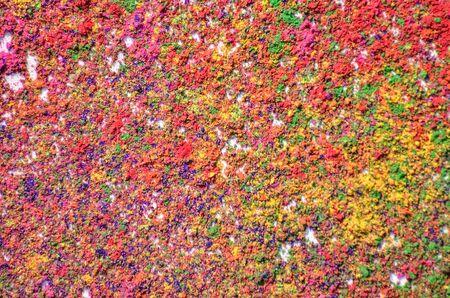 hindues: Color de fondo con polvo de Holi. Holi es un festival que se celebra en primavera por los hindúes, sijs y otros, personas que lanza polvo de color y el agua de color el uno al otro.