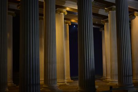 Column Colonnade Greco Roman Architecture