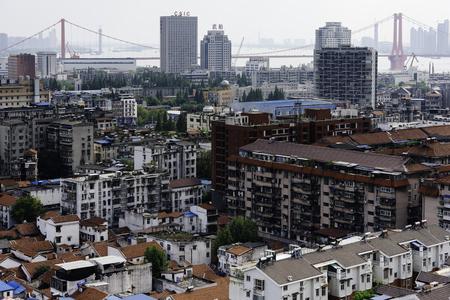 Wuhan city scenery