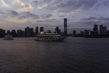 Shanghai Huangpu Course scenery Editorial