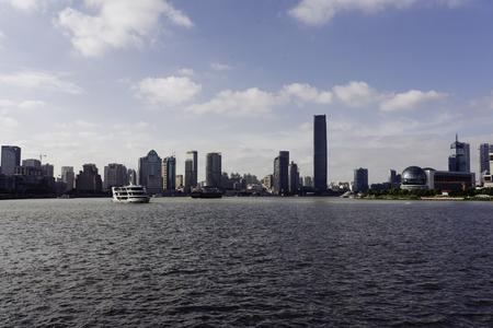Shanghai Huangpu River scenery
