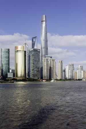Shanghai Lujiazui scenery Editorial