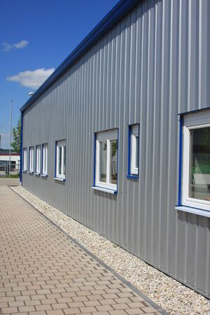 New factory building